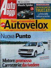 Auto Oggi n°16 2003 Mazda Spider MX-5 Suzuki GSX-R 1000  [P45]