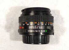 Minolta 50mm f1.7 lens, MD mount Nice