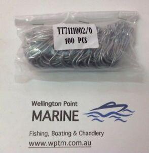 TruTurn 711 Forged Permasteel Hooks - 100 PACKS - Gang Hooks