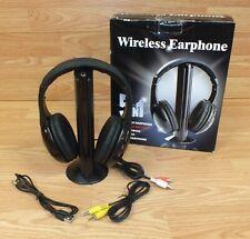 Princess Int. 5 in 1 FM Radio Wireless Earphones / Headphones & Transmitter READ