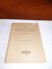 lot 8 notes techniques revues P.L.M. paris lyon méditerranée/dunod/1886 à 1937