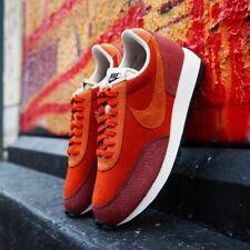 Nike Daybreak Para hombre Naranja Marrón Negro Zapato Entrenador Zapatillas Uk Size 7-11