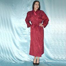 weicher Satin MORGENMANTEL* S-M  Negligee* Bademantel* Nachthemd* Kimono* Pyjama
