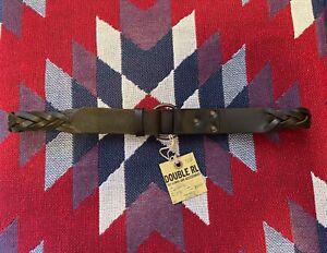 Double RL Ralph Lauren RRL Belt Leather Italy 🇮🇹