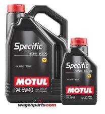 Aceite Motul Specific VW Audi Seat Skoda 50501 50200 50500 5W40, pack 6 litros