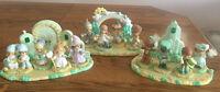 Precious Moments Wizard of Oz 15 Piece Set -Over Rainbow, Emerald City, Munchkin
