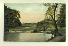 tp6935 - Yorkshire - The Upper Lake at Roundhay Park, in Leeds - Postcard