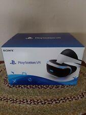 Sony PlayStation Virtual Reality VR, Camera Set, and original box