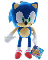 "Sonic the Hedgehog 13"" Plush Stuffed Figure Boys Girls Children Kids Toy Gift"