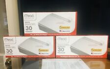 """Lot of 3 MEAD SELF ADHESIVE ENVELOPE #10 size: 4 1/8""""x 9 1/2"""" 30 ct/box A+Seller"""