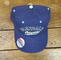NWT GLENDALE Arizona Baseball Cap Hat Ladies Strapback NEW by The Game (D)
