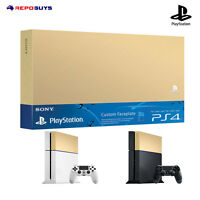Ps4 Sony Genuine Playstation 4 Gold Custom Faceplate HDD Case Top Cover