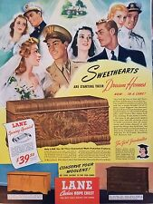 1964 Lane Cedar Chest Spring Sweetheart Special Starting Dream Homes Ad