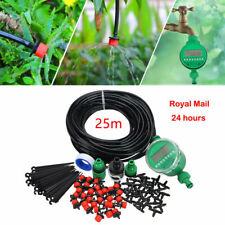 New Listing82ft Diy Automatic Micro drip irrigation Watering System Plant Garden Hose Set