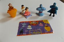 Nestle Magic Disney Lot of 5 Figures from Aladdin
