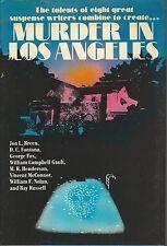 MURDER IN LOS ANGELES ~ Short Stories/Novellas 1987 HC DJ FE