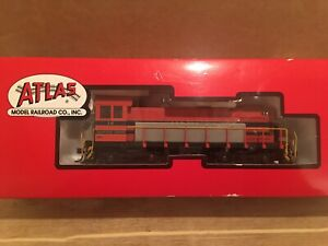 HO Atlas Morristown & Erie S-4 Switcher Powered Diesel Locomotive #14
