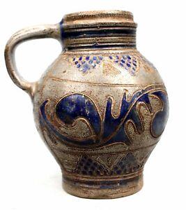 Art Africain - Ancienne Poterie Allemande Excavation Traite Négrière - 17 Cms ++