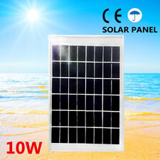 10W 12V Solar Panel Kit Caravan Camping Power Charging Battery Charger AU POST
