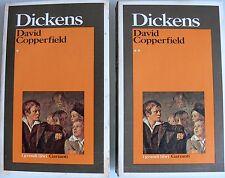 CHARLES DICKENS DAVID COPPERFIELD. TRADUZIONE DI UGO DETTORE GARZANTI 1980