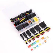 Car 1-6 Pin Way Electric Wire Waterproof Plug Connector Fuse Removal~l