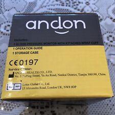 Andon Blood Pressure Monitor Brand New