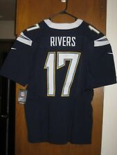 NEW NIKE PHILIP RIVERS LOS ANGELES CHARGERS ELITE JERSEY MENS 48 XL RETAIL $295