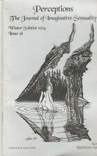 PERCEPTIONS: THE JOURNAL OF IMAGINATIVE SENSUALITY ~ Winter Solstice 1994 Issue
