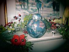 """^ Ernestine's Urns """"Tiffany Dream"""" Porcelain Large Pet Cremation Urn - 8""""-High"""