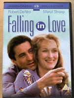 Falling in Love DVD 1984 Romantic Drama Movie w/ Robert De Niro + Meryl Streep