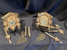 2 Nos Vintage Cuckoo Clocks Repair