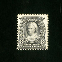 US Stamps # 306 F-VF OG NH Fresh Catalog Value $110.00
