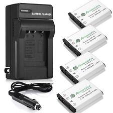 NP-45 NP-45A Li-ion Battery + Charger For Fujifilm FinePix XP60 J10 J100 EN-EL10