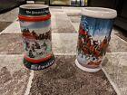 Set Of Christmas Budweiser Mugs
