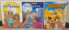 Elfquest 2,4,5 Warp Graphics 3-Book Set 1978 Wendy And Richard Pini