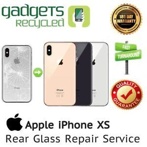 iPhone XS Rear Glass Replacement Repair Service - Same Day Repair & Return