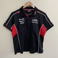 Holden Racing Team HRT HSV V8 Supercars Polo Shirt Womens Ladies 14