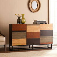 Modern Wood Sideboard Buffet Office Credenza Media Console Table Storage Cabinet