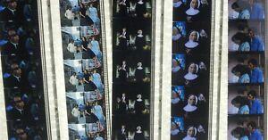 Change of Habit feat Elvis Presley (02) - 5 strips of 5 35mm Film Cells