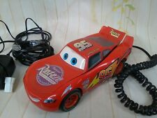 Disney Cars Vintage 2006  Lightning McQueen two piece talking animated telephone