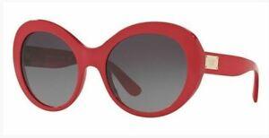 Authentic Dolce & Gabbana Sunglasses DG4295 3097/8G Fuxia Frames Gray Lens 57mm