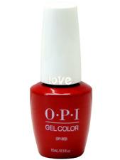 Opi GelColor New Gel Nail Polish Soak-Off Gc L72- Opi Red
