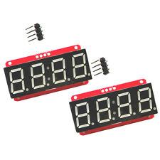 2x LED Display Module HT16K33 I2C 0.56'' 4 Digit Seven-Segment for Arduino