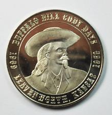 1969 Buffalo Bill Cody Days Leavenworth Kansas Homestead Souvenir Dollar 41mm