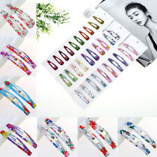 5-50Pcs Lovely Alloy Multicolor Hair Snap Clips Baby Girl Diy Party Gifts Supply