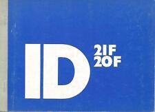 Citroen ID 20 21 manual de instrucciones 1971 manual de instrucciones manual bordo libro ba