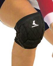 Mueller Sports Medicine Diamond Pad Volleyball Knee Pads, Black, Pair, Black, Xl