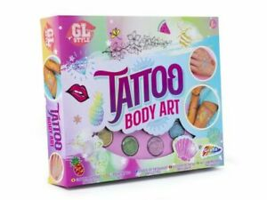 GL Style Glitter Sparkle Temporary Tattoo Body Art Set