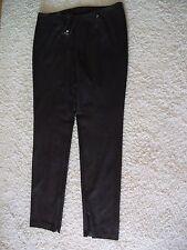 Orig. BASLER Black Label - elegante, moderne Luxushose dunkelbraun Gr. 42 NEU