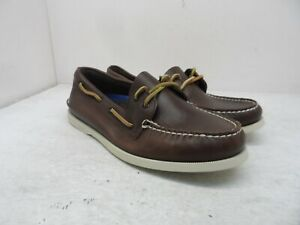 Sperry Top-Sider Men's Authentic Original 2-Eye Casual Boat Shoes Brown 8.5W